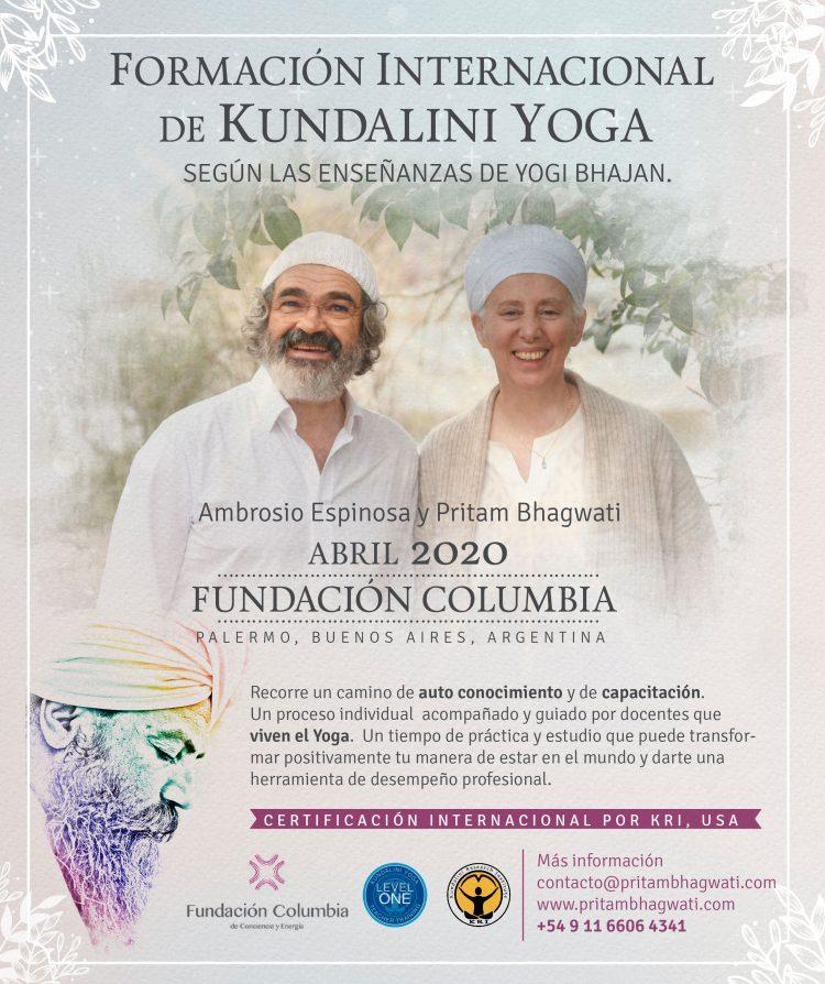Formación Kundalini Yoga 2020